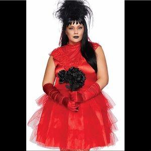 Beetlejuice Bride Lydia Deetz Plus Size Costume